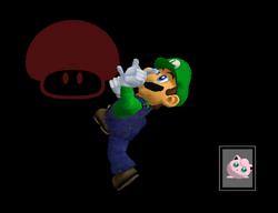 Pose de victoria Luigi Y (2) SSBM