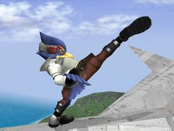 Ataque Fuerte Lateral Falco SSBB (3)