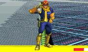 Burla inferior Capitán Falcon SSB4 (3DS) (1)
