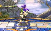Burla lateral Tirador Mii SSB4 (3DS)