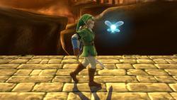 Burla lateral de Link (2) SSB4 (Wii U)
