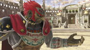 Ganondorf en el Coliseo SSBU
