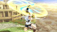 Ataque aéreo hacia arriba Pit SSB4 Wii U
