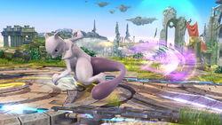 Ataque fuerte lateral Mewtwo SSB4 (Wii U)
