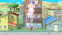 Lanzamiento hacia arriba Ness (2) SSB4 (Wii U)