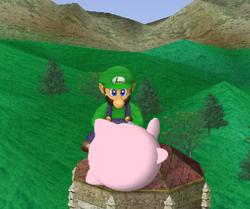 Lanzamiento hacia arriba de Luigi (1) SSBM