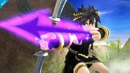 Pit Sombrío usando su Arco de plata SSB4 (Wii U)