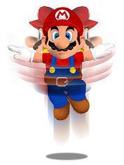Tornado Mario en Super Mario Sunshine