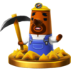 Trofeo de Forma T. Ado SSB4 (Wii U)