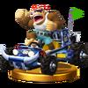 Trofeo de Funky Kong (Todoterreno) SSB4 (Wii U)