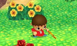 Burla inferior Aldeano SSB4 (3DS)