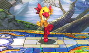 Burla lateral Karateka Mii SSB4 (3DS) (1)