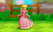 Burla lateral Peach SSB4 (3DS)