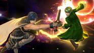 Créditos Modo Leyendas de la lucha Daraen SSB4 (Wii U)