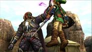 Créditos Modo Senda del guerrero Ganondorf SSB4 (3DS)
