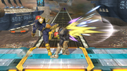 Golpiza de Captain Falcon SSB4 (Wii U)