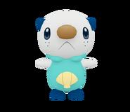Pose T Oshawott SSB4 (Wii U)