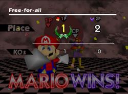 Pose de victoria de Mario (3) SSB