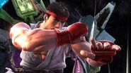 Ryu en la Estación espacial SSB4 (Wii U)