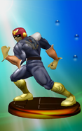 Trofeo de Captain Falcon (Smash 1) SSBM