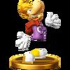 Trofeo de Rayman SSB4 (Wii U)