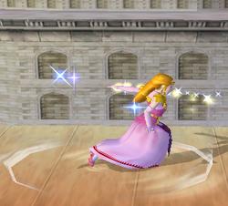 Ataque fuerte lateral de Zelda (2) SSBM