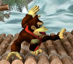 Ataque rápido de Donkey Kong SSBM