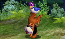 Burla lateral de Dúo Duck Hunt SSB4 (3DS)