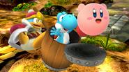 Créditos Modo Leyendas de la lucha Rey Dedede SSB4 (Wii U)