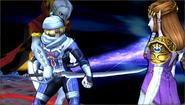 Créditos Modo Leyendas de la lucha Sheik SSB4 (3DS)