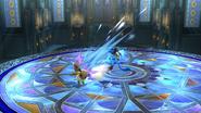 Eevee atacando SSB4 (Wii U)