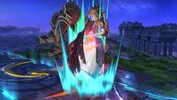 Lanzamiento hacia abajo (2) Zelda SSB4 Wii U