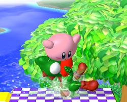 Lanzamiento hacia abajo de Kirby (2) SSBM