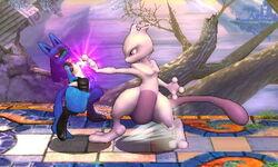 Agarre Mewtwo SSB4 (3DS)