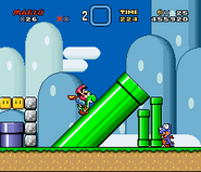 Clásico Super Mario World