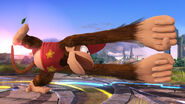 Primera imagen de Diddy Kong SSB4 (Wii U)