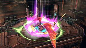 Ridley Aterrizaje SSB4 (Wii U)