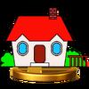 Trofeo de la Casa de PAC-MAN SSB4 (Wii U)