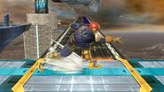 Agarre en carrera de Captain Falcon SSB4 (Wii U)
