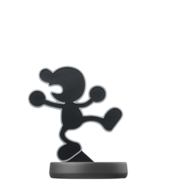 Amiibo de Mr. Game & Watch