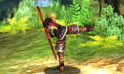 Ataque normal Shulk (2) SSB4 (3DS)