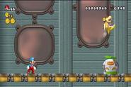 Bowsy saltando en New Mario Bros. Wii