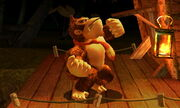 Burla superior Donkey Kong SSB4 (3DS)