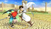 Golpiza Pit SSB4 Wii U