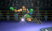 Little Mac usando Crochet relámpago SSB4 (3DS) (1)