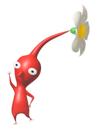 Pegatina del Pikmin rojo SSBB