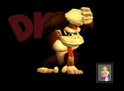 Pose de victoria Donkey Kong Y (2) SSBM
