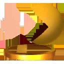 Trofeo de PAC-MAN (alt.) SSB4 (3DS)