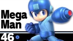 46 Mega Man – Super Smash Bros