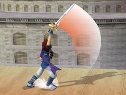 Ataque fuerte hacia arriba de Roy (1) SSBM
